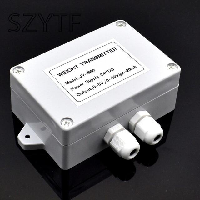Transmisor de peso amplificador de pesaje, sensor de pesaje, convertidor de voltaje y corriente 0 5V0 10V4 20MA