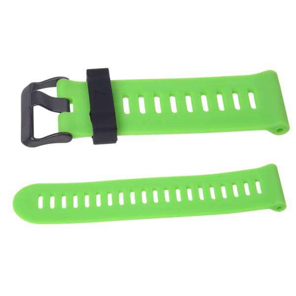 YCYS-For Garmin Fenix 3 HR Soft Silicone Strap Replacement Wrist Watch Band+Tool Kits Green soft adjustable silicone replacement wrist watch band for garmin forerunner 920xt gps watch purple