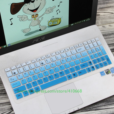 for Asus Rog Strix Scar Edition Gl703Vd Gl703Bm Gl703Gi Gl 703 Gs Gl703 Ge Vm Gm G S7Am 17.3 Inch Laptop Keyboard Cover Skin Black