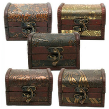 Hot! Vintage Jewelry Pearl Necklace Bracelet Storage Organizer Wooden Case Gift Box