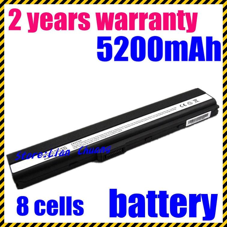 JIGU 8 Cell Laptop Battery For ASUS K52 K52D K52DE K52DR K52F K52J K52JB K52JC K52JE K52JK K52JR K52N K62 K62F K62J K62JR N82 kingsener japanese cell a32 k52 battery for asus a52 a52f a52j k52 k52d k52dr k52f k52j k52jc k52je k52n a41 k52 a31 k52 a42 k52