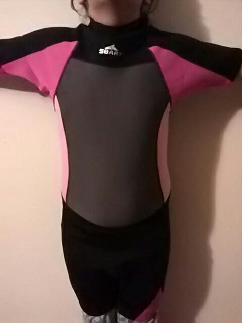 SBART Neoprene 2mm Swimwear Men/Women Wetsuits Diving Suits Scuba Swimsuits One Piece Shot Sleeve Surfing Snorkel CO