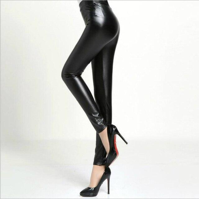 Kleidung warme Warme Frauen Sex Samt Schwarz Hosen 82 Sexy Faux Leggings In Leggins Us10 Lederhose Einfache Für Winter 5Off eodCxBr