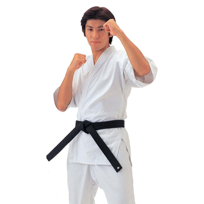 Spring Summer Kids Adults Twill Cotton Karate Jiu Jitsu Judo Taekwondo Uniform Clothes W/White Belt Men Women Dobok Outfits BO