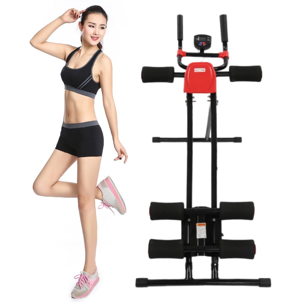 Fitness AB Glider Trainer Rail Cruncher Abdominal Roller coaster abdominal Machine Gym Home ABS New HWC массажер 2010 abs ab flex