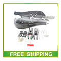 28mm handlebar moto cross hand guard 125cc 150cc 200cc 250cc dirt bike pit bike motorcycle accessories free shipping