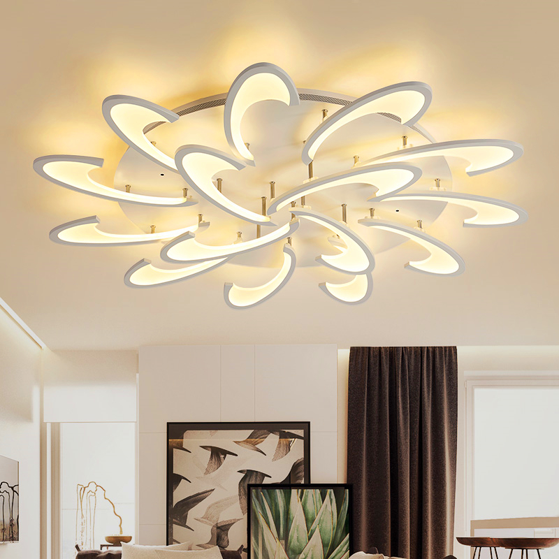 Nordic LED Acrylic living room ceiling lamps modern Novelty ceiling lights creative bedroom fixtures diningroom ceiling lighting