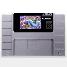 4 tartarugas Tartarugas Em Tempo EUA Versão de 16 bits Big 46 pinos Cinza Cartão de Jogo Para O Jogador Do Jogo NTSC