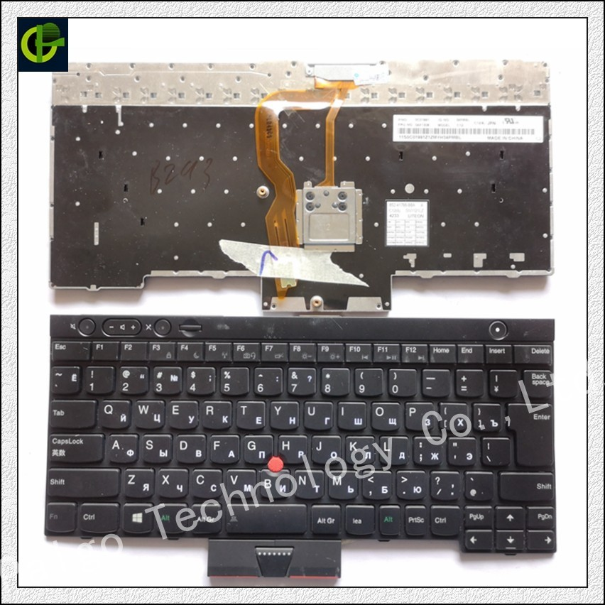 New Russian Keyboard For ThinkPad L530 T430 T430S X230 W530 T530 T530I T430I 04X1263 04X1376 04W3048 04W3123 04W3197 RU