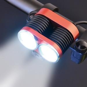 5000lm Bike Lamp 2x XM-L T6 Fr