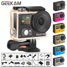 "GEEKAM H3R/H3 Action Camera Ultra HD 4K/30fps 20MP WiFi 2.0"" 170D Dual Screen Waterproof Helmet Video Recording Camera Sport Cam"