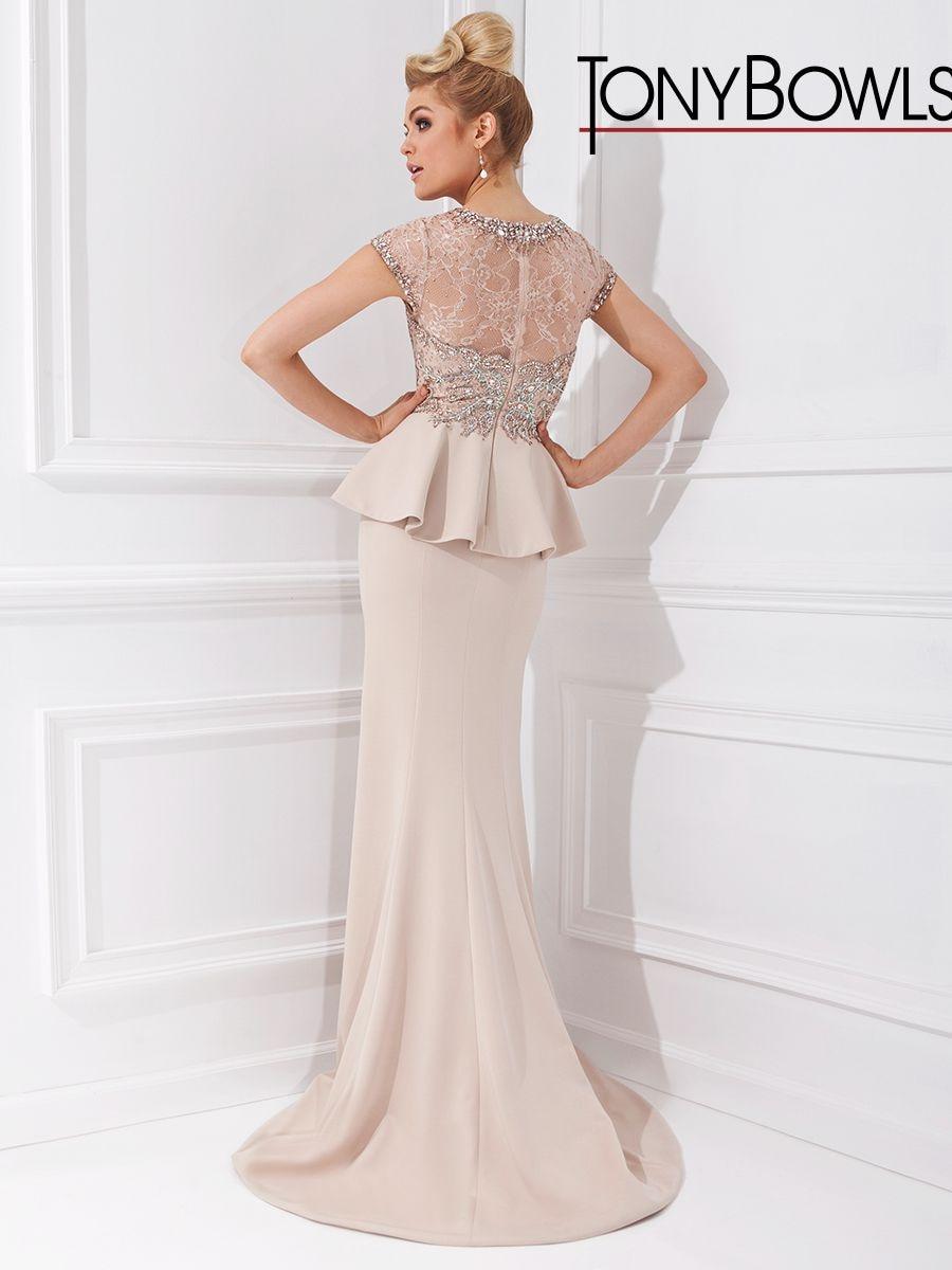 Elegant Sheath Evening Dresses Crystal Beading Peplum Draped Formal ... 8cc404c32597