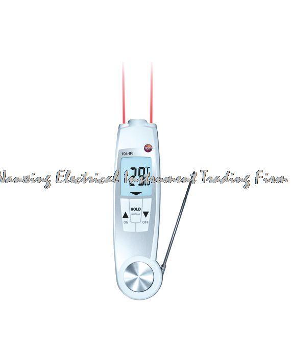 Быстрое прибытие Testo 104 IR Еда безопасности термометр 50 до + 250C цифровой Ручной идеально подходит для Еда проверки безопасности