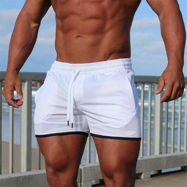 Summer new fitness shorts Fashion Breathable quick-drying gyms Bodybuilding Joggers shorts Slim fit shorts camouflage Sweatpants 6
