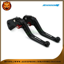 For BMW S1000R 2015-2016 S1000 1000R  RED BLACK GOLD  MOTO MOTOBIKE Motorcycle Adjustable Brake Clutch Levers