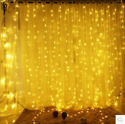 Christmas!6x3M Garland LED Christmas Lights Outdoor Decoration LED Curtain String Fairy Light For Holiday Wedding Luzes de Natal patriot max power srge 1000it