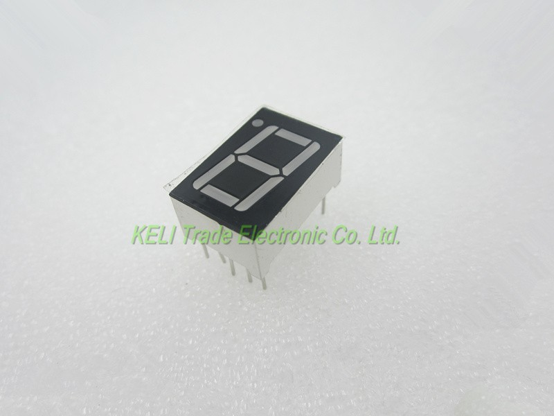 20 PCS LD-5161AG 1 Digit 0.56 GREEN 7 SEGMENT LED DISPLAY COMMON CATHODE 100 pcs ld 3361ag 3 digit 0 36 green 7 segment led display common cathode