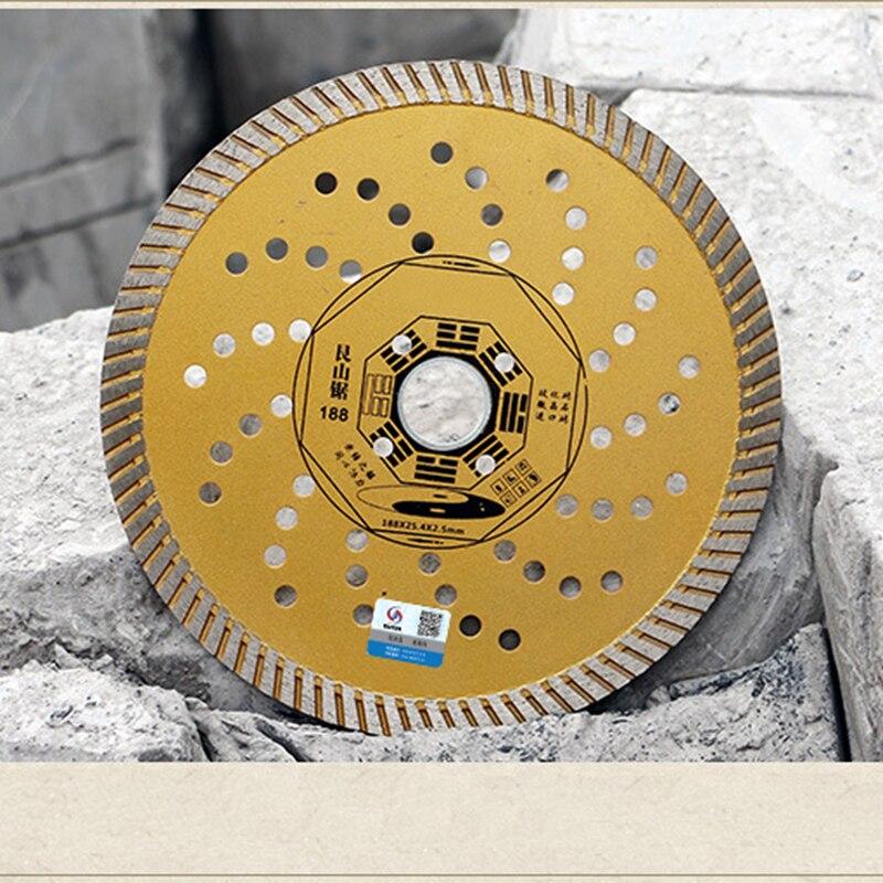 RIJILEI 230 * 25,4 * 2,5 lama da taglio ultrasottile per piastrelle - Lama per sega - Fotografia 4