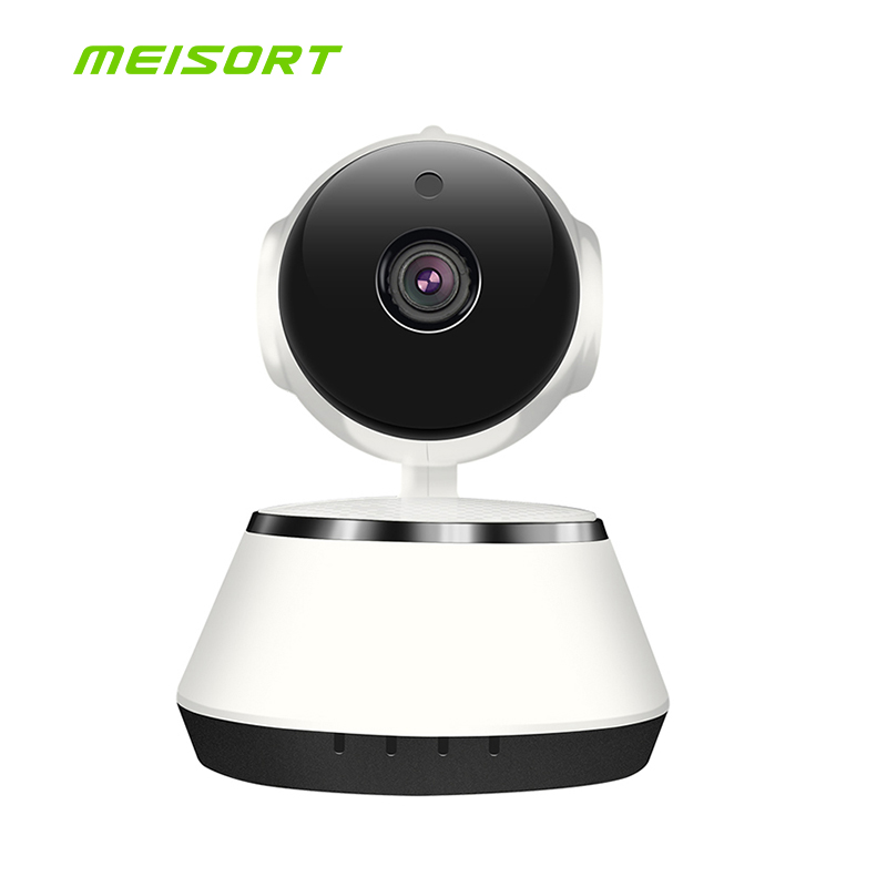 Wireless Security IP Camera Wifi IR-Cut Night Vision Audio Recording Surveillance Network Indoor Video Surveillance HD Camera fpv 1 2ghz 100mw 4ch wireless audio