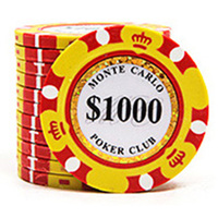 20 PCS/LOT Luxury Design Poker Chips 14g Clay/Iron/ABS Chips Texas Hold'em Poker Wholesale For Club Free Shipping