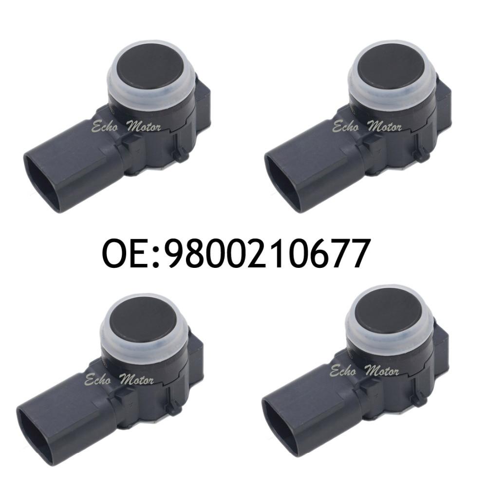 New SET(4) Parking Assist System 9800210677 For Peugeot Citroen Car Parking Sensor 9800210677RU new set 4 89341 0c010 42342 parking ultrasonic sensor for toyota tundra 2014 2015 left right 0c010 42342
