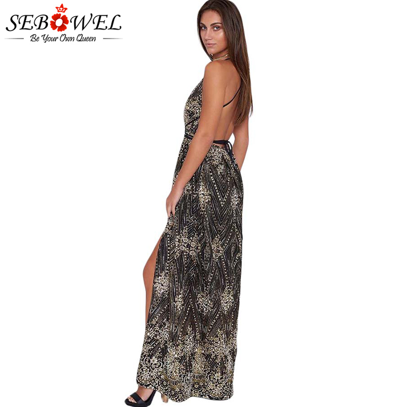 Black-Daring-Open-Back-Glittering-Party-Dress-LC610534-2-3