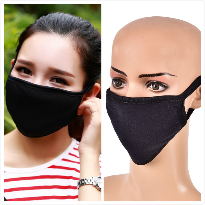 Anti-haze Dustproof Cotton Breathable Masks Men And Women Autumn Winter Fashion Warm Pm2.5 Activated Carbon Mouth Masks 100% Guarantee Apparel Accessories Women's Accessories