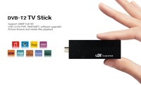 Mini DVBT2 TV Receiver DVB T2 TV Stick Support MP3 MPEG4 Format Tv Box Definition Digital