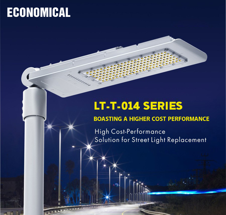 30W 40w 60w 90w 120w 150w Led Street light AC85-265V Outdoor lighting IP65 meanwell driver CE Rohs UL certification ...