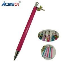 купить ACMECN Ball Pen with Pendent Cute & Slim Design Pen with ornament for School Student Writing Stationery Cool Propelling Pen1715B дешево