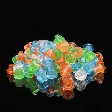 200pcs Colorful Many Colors Tattoo Rubber Grommet Silicone Cushion Kit Tattoo Machine Needle Mat Supply