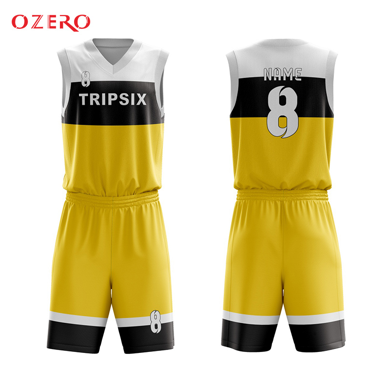 blank blue and yellow basketball jersey pictures template pattern ...