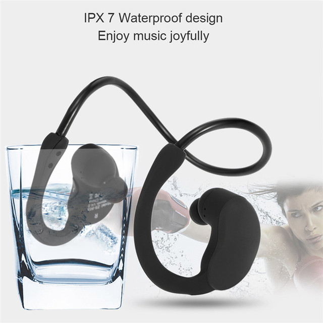 Thorough water proof sport bluetooth headset make a fool ofs earphone wireless earphone IPX7 SZ903.
