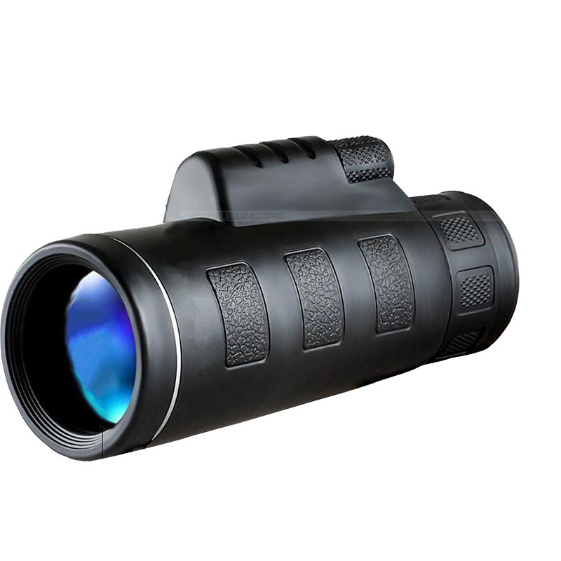 10x40 Hunting HD Professional Telescope Monocular Single Hand Focus Spotting Scope Telescope Long Range Optics Lens Telescopio professional 150x refractive astronomical telescope with finderscope monocular spotting scope 300 70mm telescopio children gift