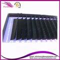 10 bandejas de mucho, extensión de pestañas de seda, 0.07 3D seda pestañas, 8-15mm, B C D J rizo