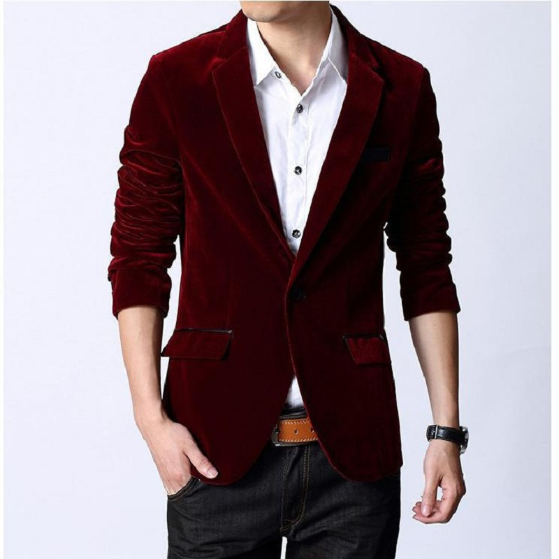 2015 High Quality Fashion Style Men Suit Jackets British