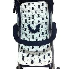 Baby Stroller Pad Thicken  Baby Cotton Stroller Seat Soft Children TrolleyBaby Urine Pads Car Mat Kids Chair Cushion accessories