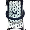 Carrinho De bebê Pad Engrosse Stroller Assento de Algodão Macio Crianças TrolleyBaby Almofadas de Urina Do Bebê Tapete Do Carro Coxim Da Cadeira Dos Miúdos acessórios