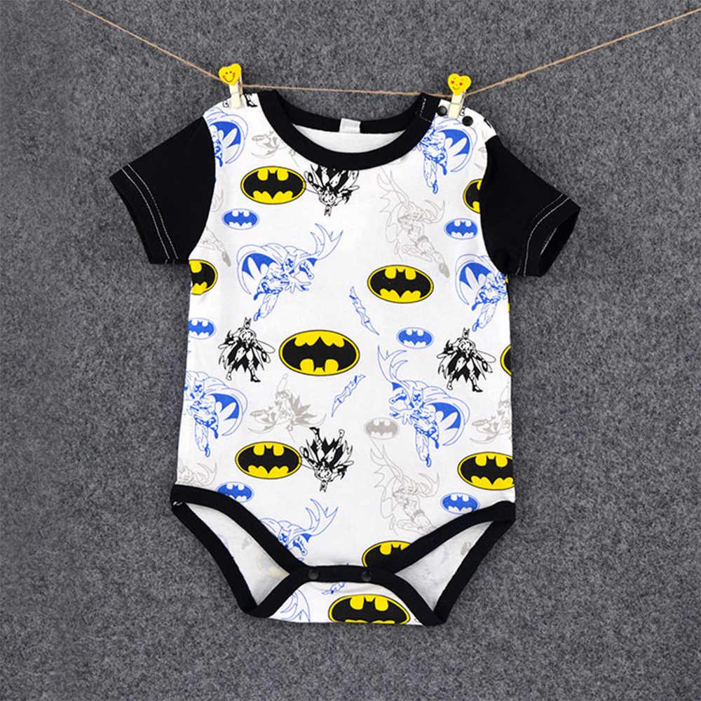 Miękkie koszula dla dzieci Super Hero kapitan ameryka kostium SpiderMan Batman Avengers kombinezony Cosplay dla dzieci dzieci chłopiec
