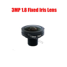 DIY 3mp HD 1.8mm 185 Degrees Fish Eye Wide Angle View Board Lens  3MP 1/2.7″ M12 For CCTV / IP Camera Free Shipping
