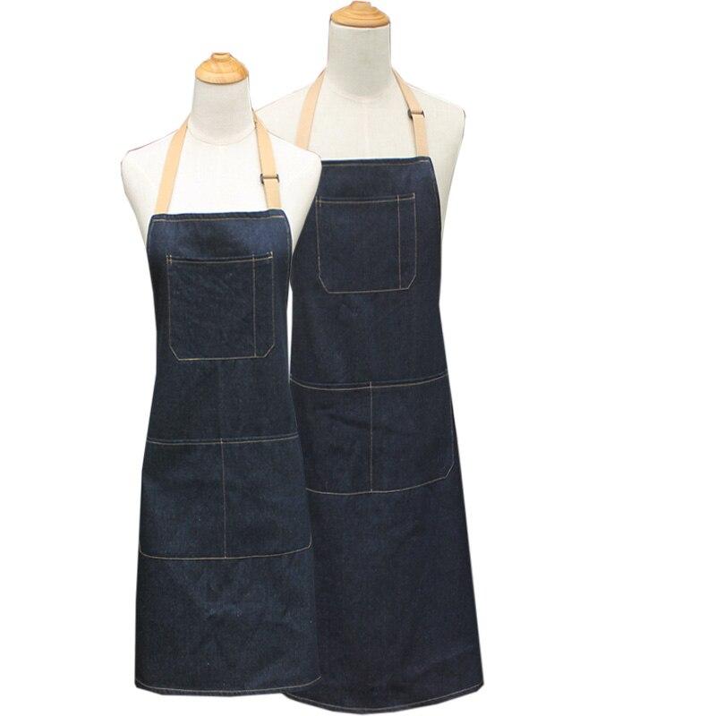 Denimschort Groot katoen Schorten Koken bakken grappig sexy schort - Huishouden