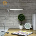 СИД Металлический Зажим Настольная Лампа Современный защиты Глаз раз светодиодные лампы Спальня ночники офис обучения многофункциональный стол свет