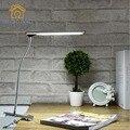 LLEVÓ Clip De Metal Lámpara de Mesa protección Moderno Ojo plegable llevó la lámpara de cabecera del Dormitorio de oficina de aprendizaje multi-función de luz de la tabla