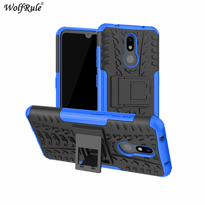 "Image 3 - Phone Case sFor Nokia 3.2 Case 6.26"" Dual Layer Armor Shells TPU+PC Shockproof Cover For Nokia 3.2 Cover For Nokia 3.2 2019 Case-in Fitted Cases from Cellphones & Telecommunications"