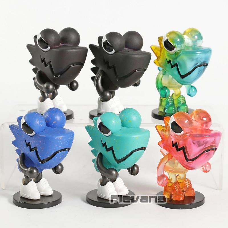 Cartoon Chameleon Vol.01 PVC Figures Collection Model Toys Car Decoration Dolls 6pcs/setCartoon Chameleon Vol.01 PVC Figures Collection Model Toys Car Decoration Dolls 6pcs/set