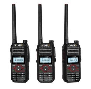 Iradio DM-580 FCC certification two way radio IP66 waterproof 2 timeslots DMR radio profession radio