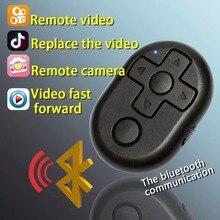 Беспроводной Bluetooth 4,2 пульт дистанционного управления спуском затвора для камеры телефона монопод селфи палка и электронная книга Видео игра управление