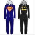 3XL Superman Funny Pajamas Adults Chinese Market Kigurumi Spiderman Whole Pajamas Cosplay Stich Pijamas Enteros Female Onesie