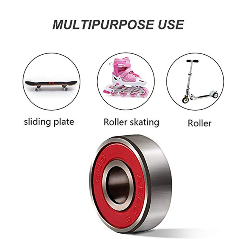 Image 5 - 10Pcs 608 ABEC 11 No noise Oil Lubricated Smooth Skate Scooter Bearing Longboard speed inline skate wheel bearing Skateboards-in Skate Board from Sports & Entertainment