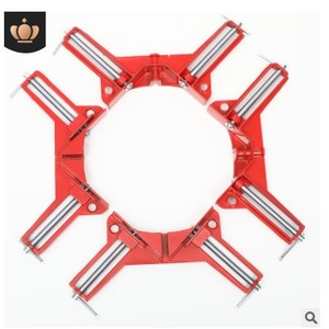 Image 3 - 4pcs 75mm Mitre Corner Clamps Picture Frame Holder Woodwork Right Angle Red